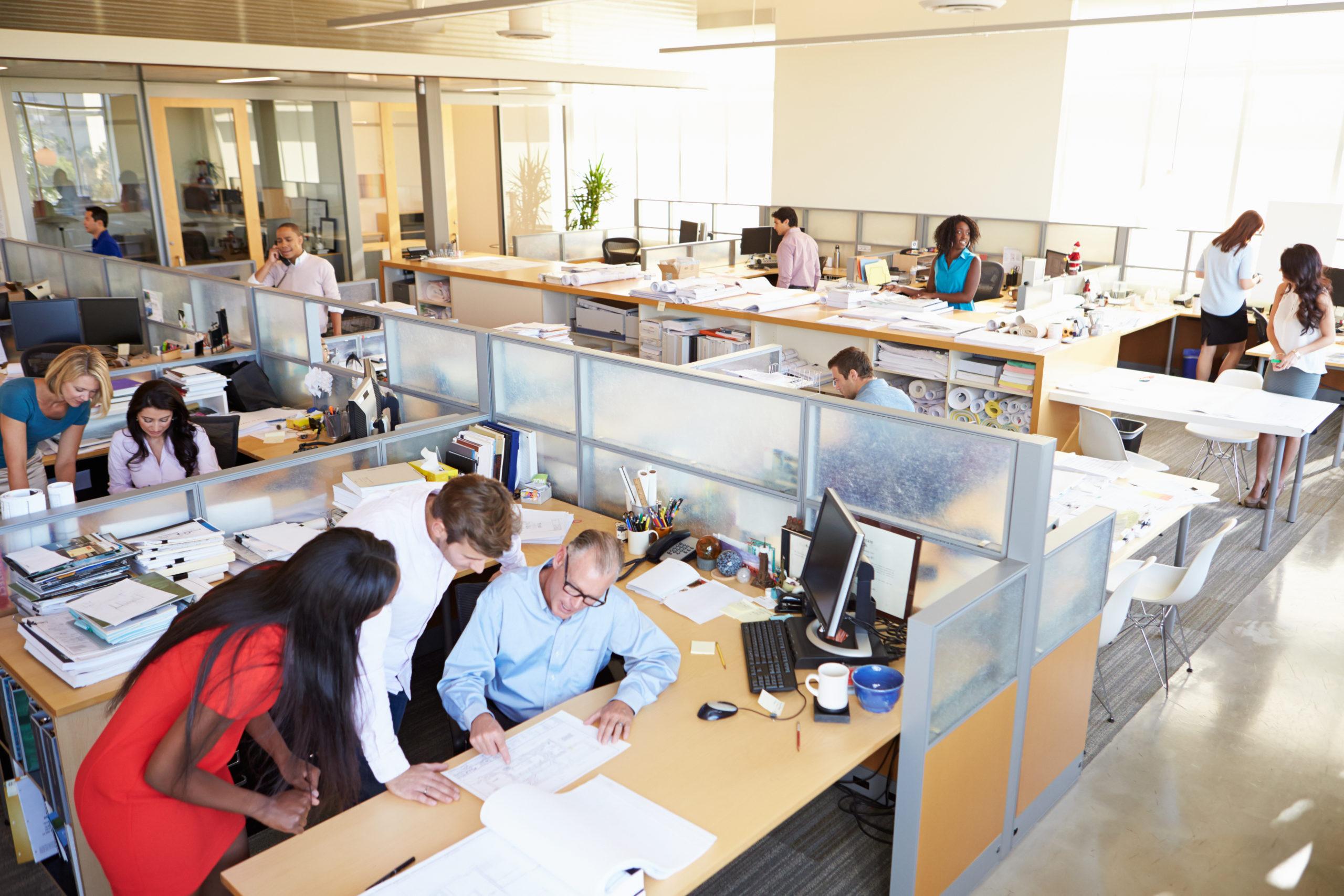 Kaltvernebelung im Büro
